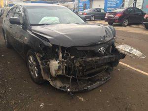 ремонт кузова авто из США в Минске