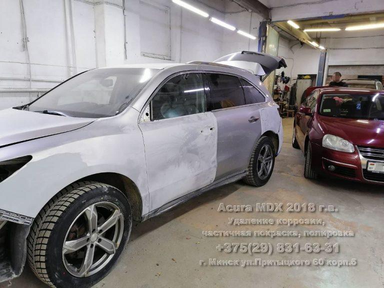 Acura MDX 2018 г.в. До