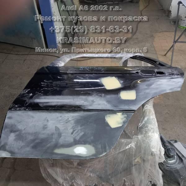 Восстановление дверей с разборки Audi a6 2002 г.в.