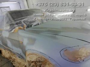 подготовка к покраске BMW X5 2012