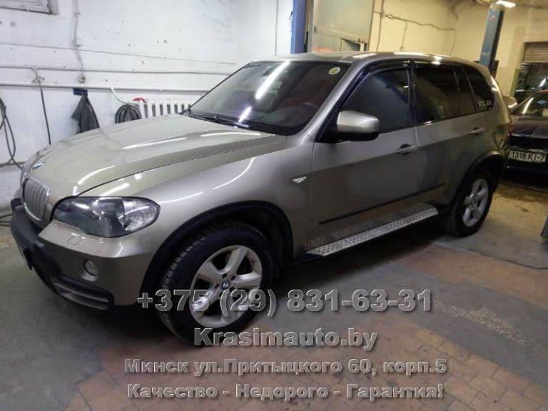 BMW X5 2012 покраска в камере