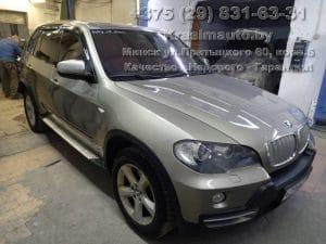 BMW X5 2012 г.в. покрасить в камере