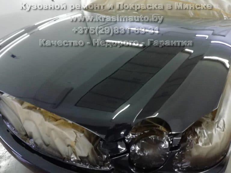 Buick Allure покраска капота в Минске