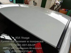 Kia Venga 2012 г.в. покрасить крышу