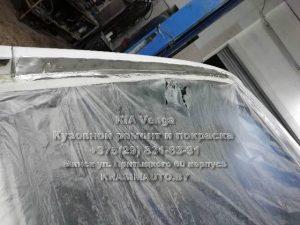 удаление ржавчины с багажника Kia Venga 2012 в Минске