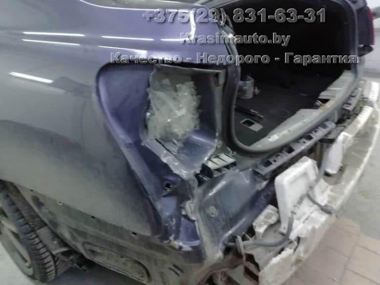 Lexus GS300 2012 г.в. после ДТП