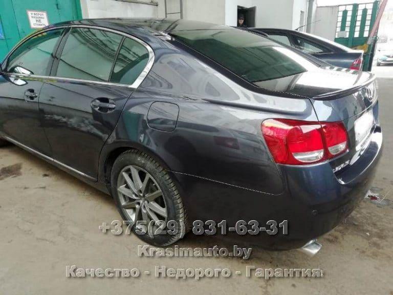 ремонт кузова после ДТП Лексус ГС 300 2012 г.в