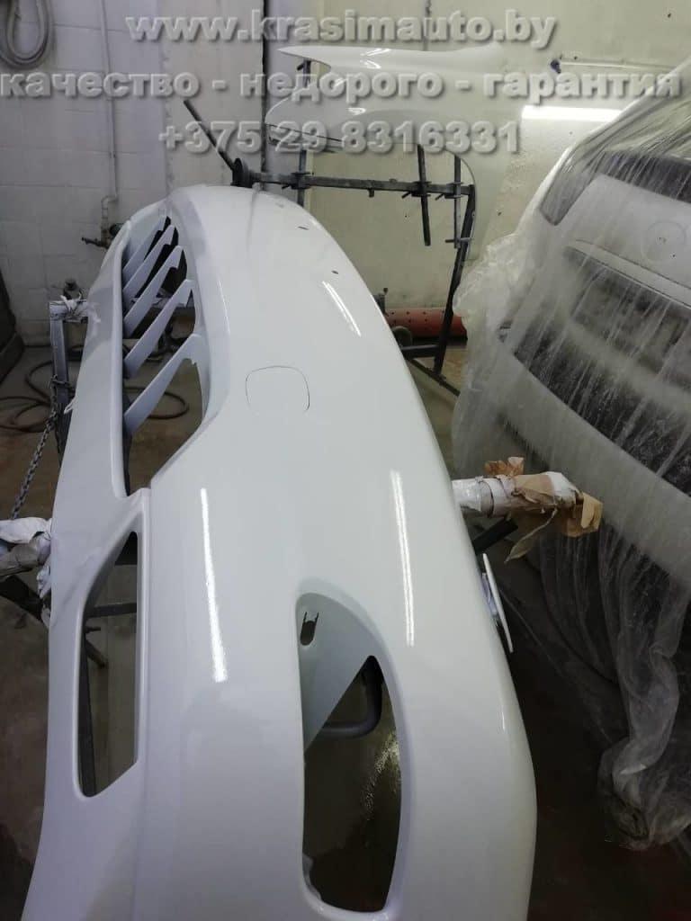 Lexus RX 350 покраска бампера в Минске