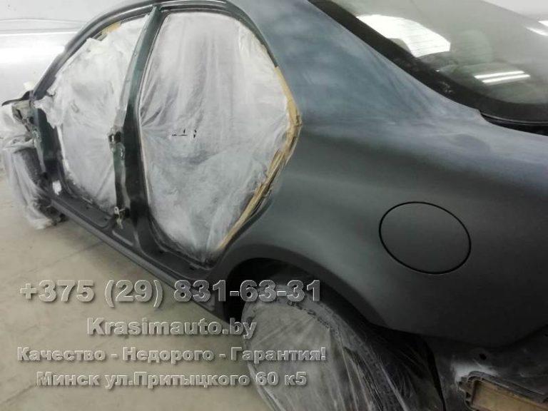 Mazda6 2002 г.в. подготовка к покраске