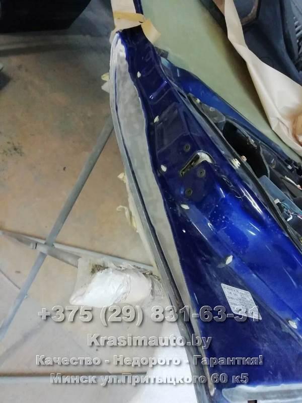 Mazda6 2002 г.в. подготовка к покраске двери