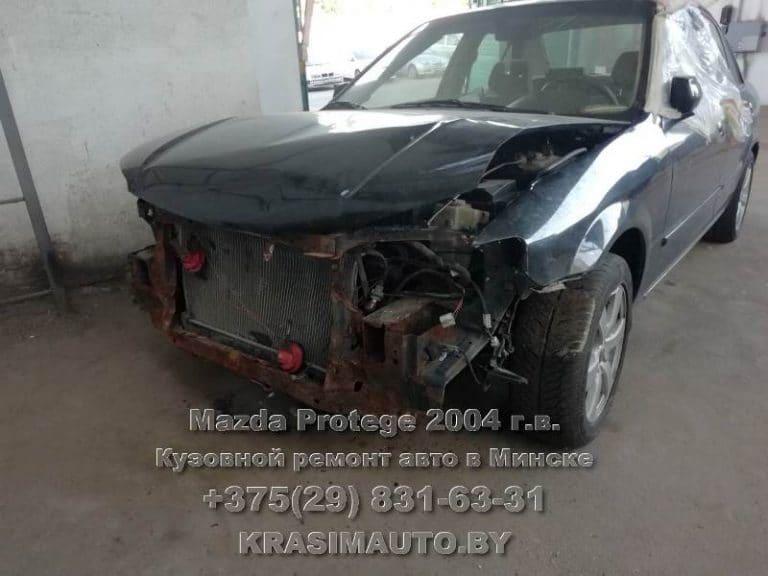 Mazda Protege 2004 г.в. после ДТП