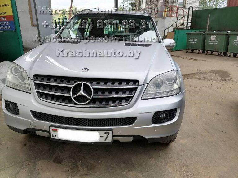 Mercedes ML 350 После
