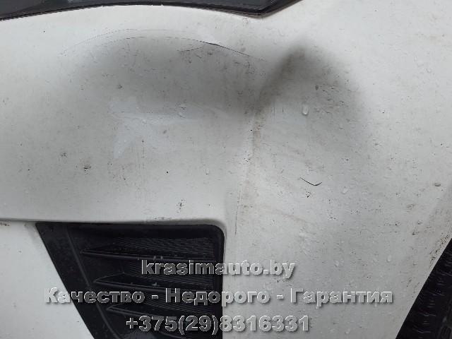Toyota Avensis ремонт бампера после ДТП