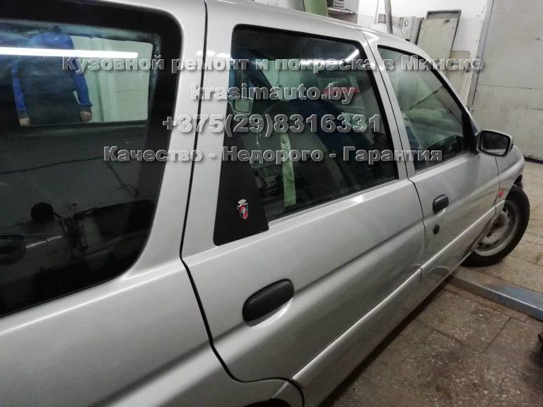 покраска кузова Ford Escort в Минске