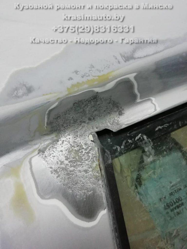 удаление ржавчины Ford Escort в Минске