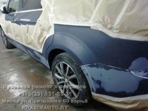 покраска бампера Ford S-Max