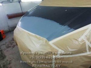 покраска капота Ford S-Max