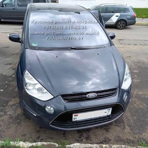 Ford S-max после покраски капота