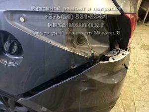 Hyundai ix35 после ДТП