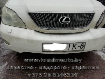 ремонт и покраска Lexus RX350 на СТО +375298316331