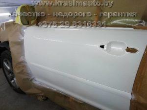 покраска двери Lexus RX350 Минск +375298316331