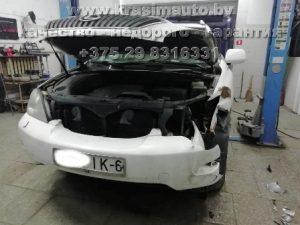 ремонт кузова стапельные работы покраска Lexus RX350 Минск +375298316331