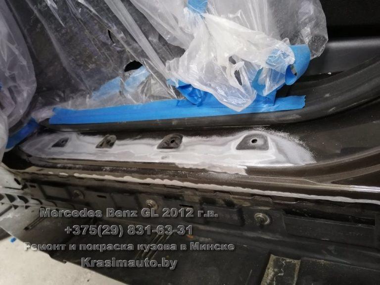 mercedes gl 2012-15