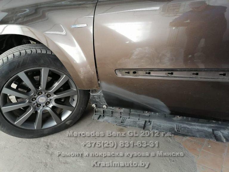 mercedes gl 2012-2