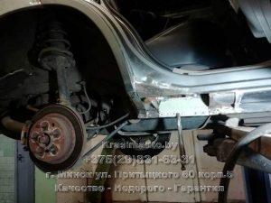 сварка порогов Nissan X-Trail