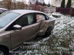 VW Polo кузовной ремонт в Минске