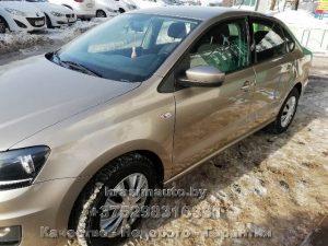 VW Polo покраска и кузовной ремонт в Минске