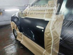 Renault DUSTER ремонт двери