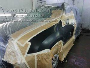 Ремонт крыла Renault DUSTER