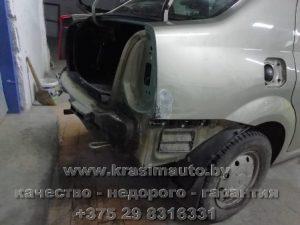 Восстановление кузова Renault Logan