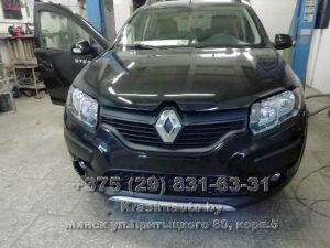 Ремонт кузова Renault Sandero Stepway
