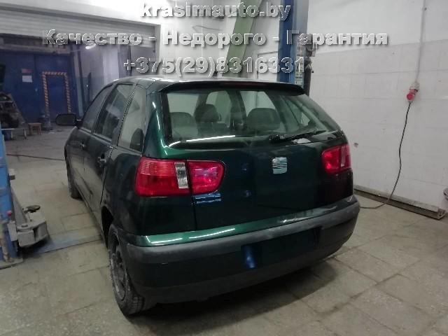 Seat Ibiza покраска на СТО в Минске +375298316331
