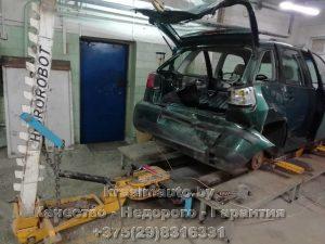Стапельный ремонт Seat Ibiza СТО в Минске +375298316331