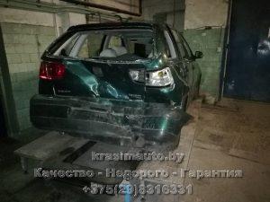 Ремонт после ДТП Seat Ibiza СТО в Минске +375298316331