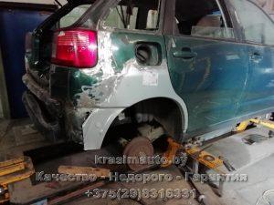 замена крыла Seat Ibiza СТО в Минске +375298316331
