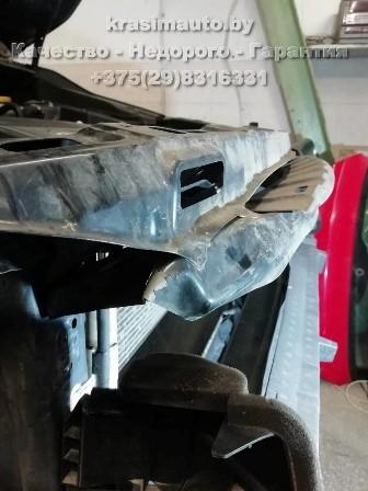 Subaru Forester после ДТП - ремонт бампера и покраска бампера на СТО в Минске +375298316331