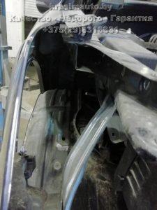 Subaru Forester ремонт бампера на СТО в Минске +375298316331