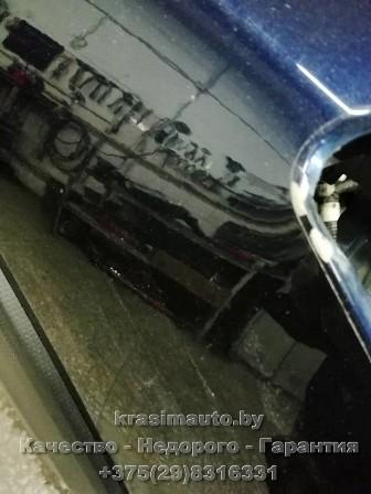 Subaru Forester ремонт и покраска крыла на СТО в Минске +375298316331