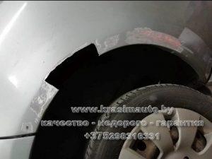 ремонт арки СТО в Минске