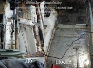 сварочные работы - переварить днище авто в Минске