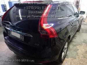 Volvo XC60 покраска крыла и двери в Минске