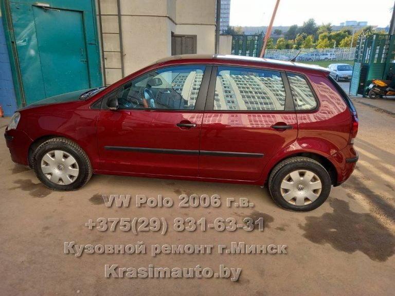 VW Polo 2006 г.в. После